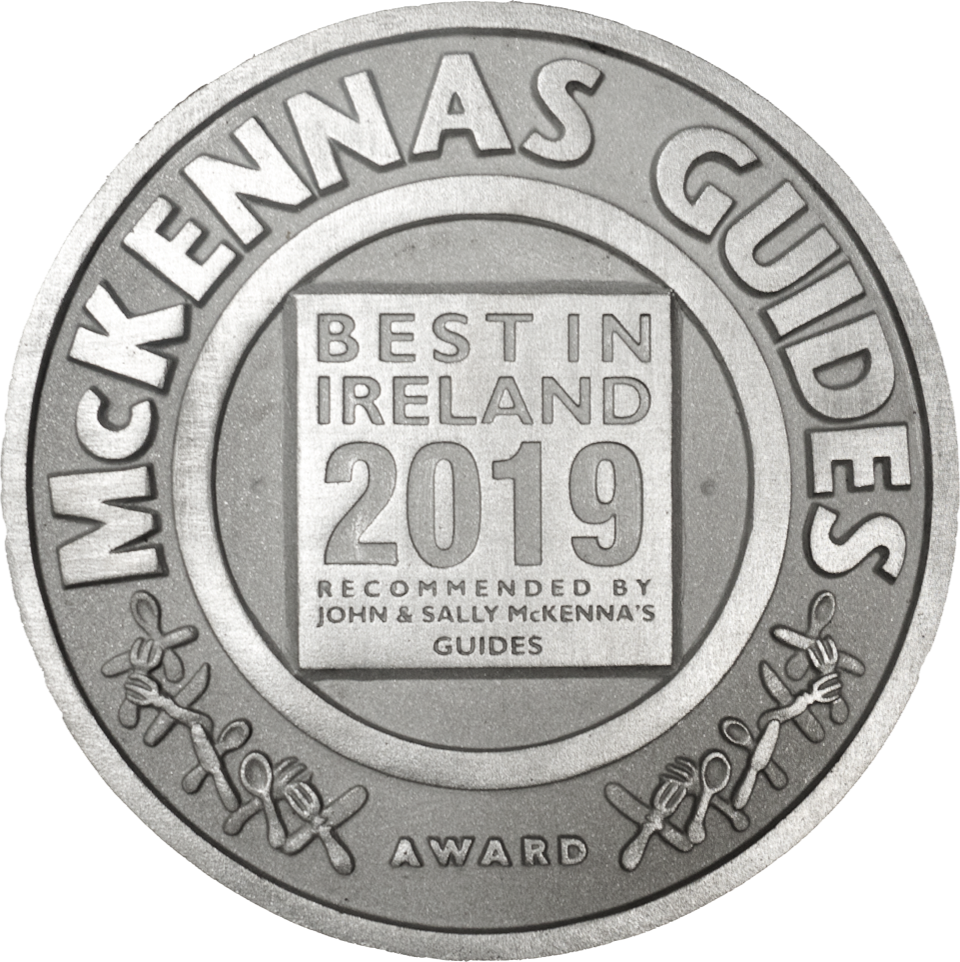 THE MCKENNAS' GUIDES BEST IN IRELAND AWARD