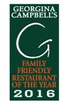 FAMILY FRIENDLY RESTAURANT OF THE YEAR 2016
